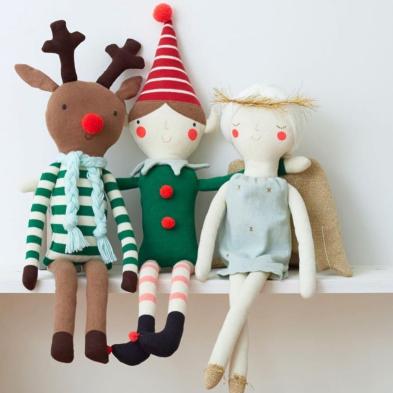 Meri Meri Holiday Cushions 2017